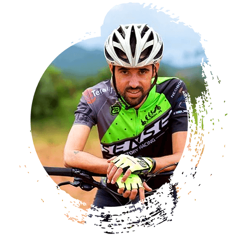 Ilsinho Jr na Bike